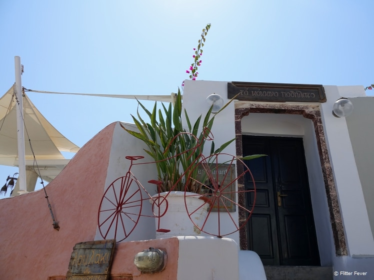 Stylish scenery in Oia