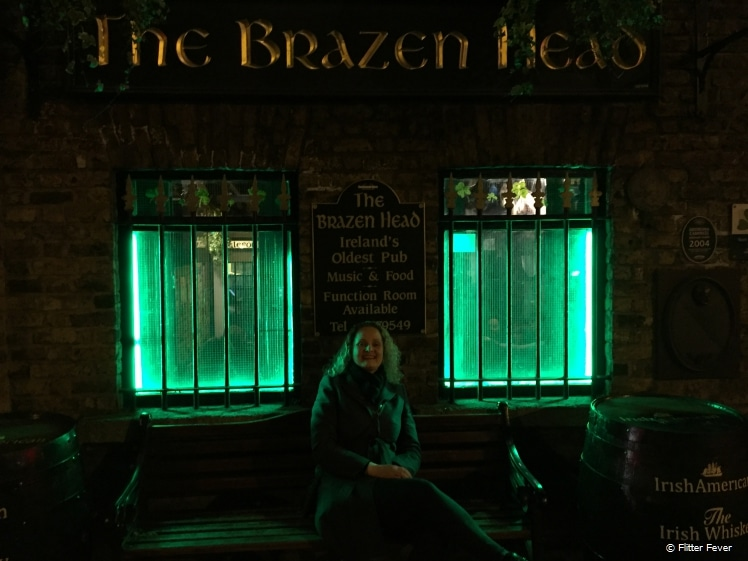 The Brazen Head in Dublin, Ireland's oldest pub