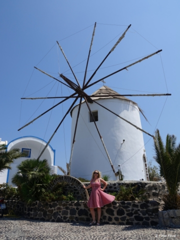 Traditional mill @ Santorini