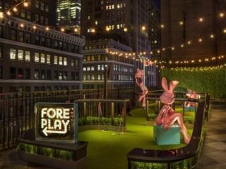 Fore play at MOXY NYC