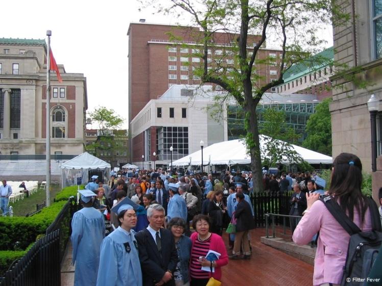 Graduation at Columbia University, NY