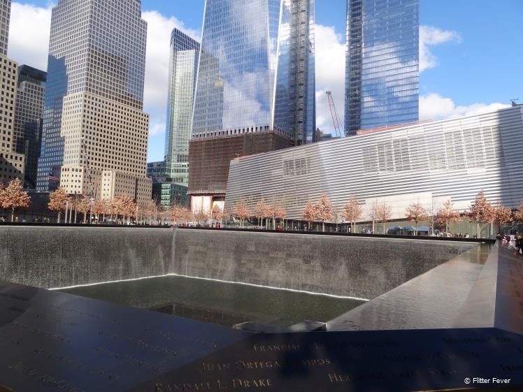 Ground Zero memorial New York City