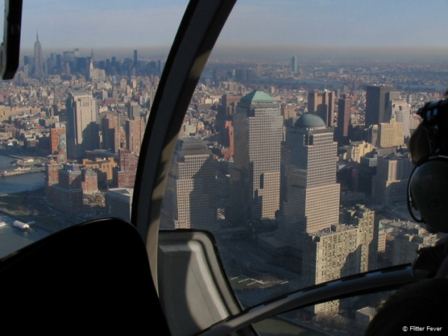 Helicopter ride with Manhattan view