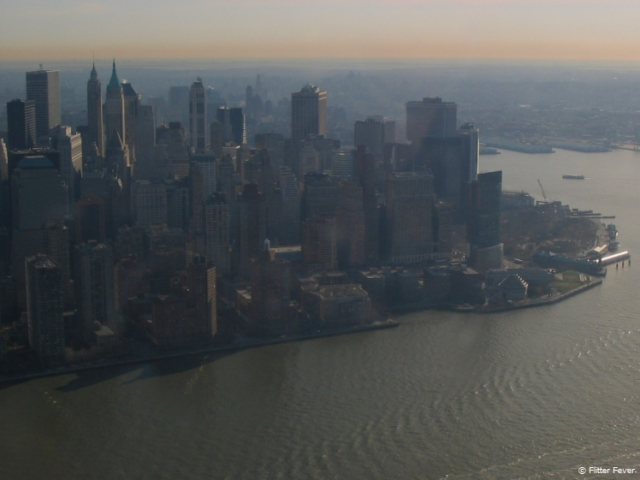 Manhattan Helicopter view