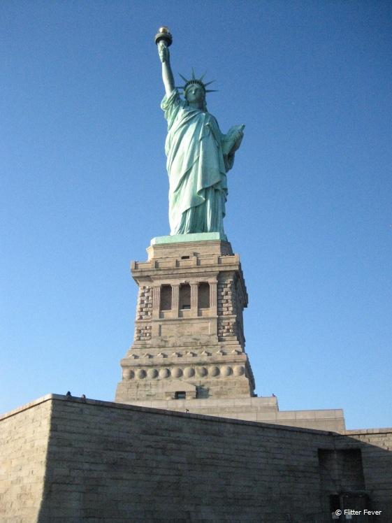 Miss Liberty up close
