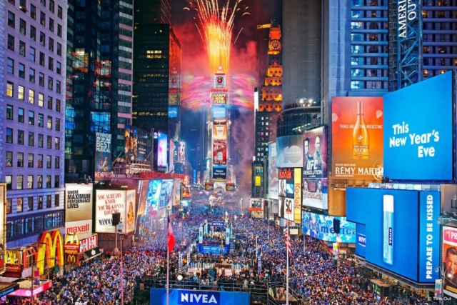 NYE in NYC Times Square (Time Out)