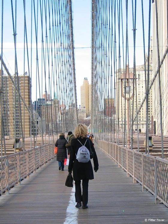 Walking towards Manhattan