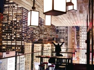 citizenM New York Times Square view