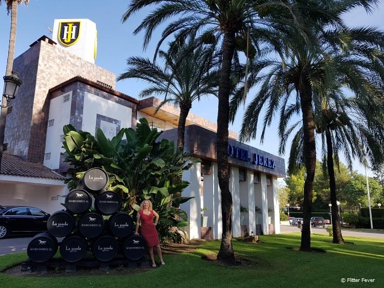 Voorzijde Hotel Jerez & Spa