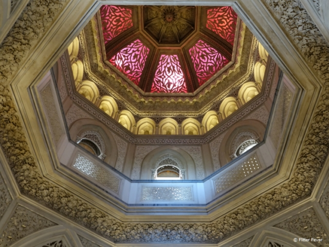 Ceiling of Monserrate Palace