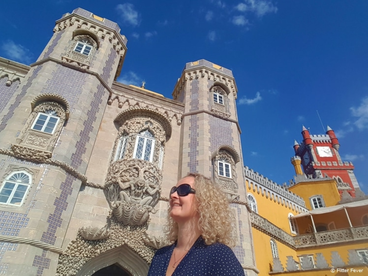 Exploring Palace of Pena Sintra