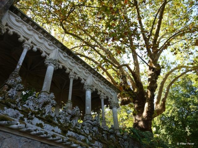 Romantic gazebo at Quinta de Regaleira