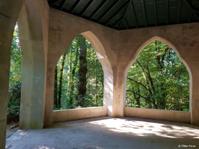 Mysterious dome in Pena Park, Sintra