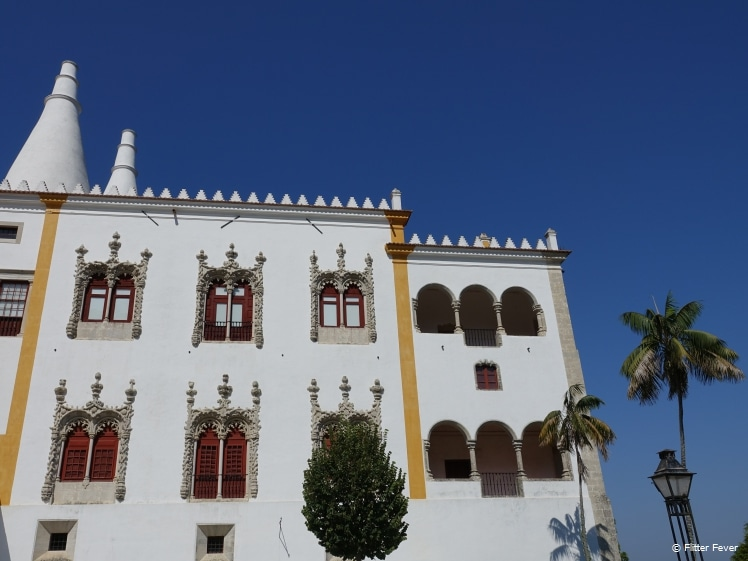 National Palace of Sintra exterior