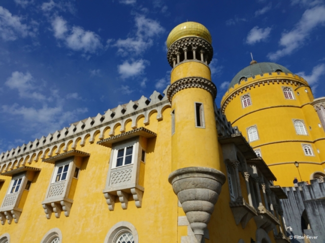 Palace of Pena in full color