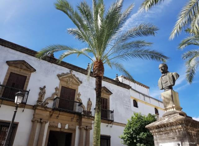Plaza Rafael Rivero in Jerez de la Frontera