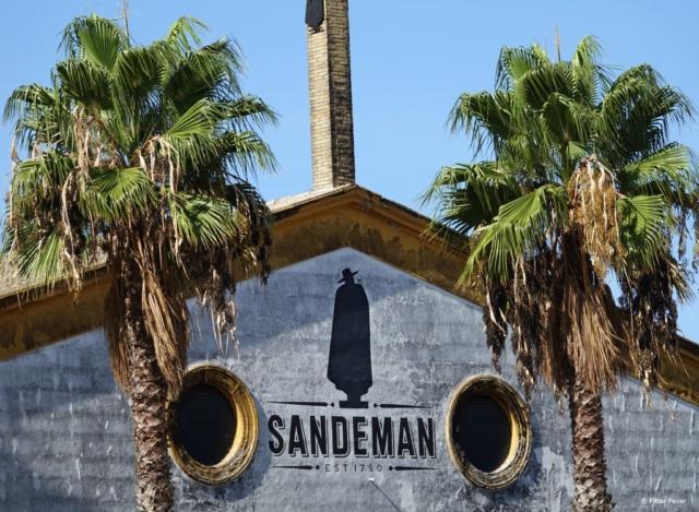 Sandeman is a well-known bodega in Jerez de la Frontera