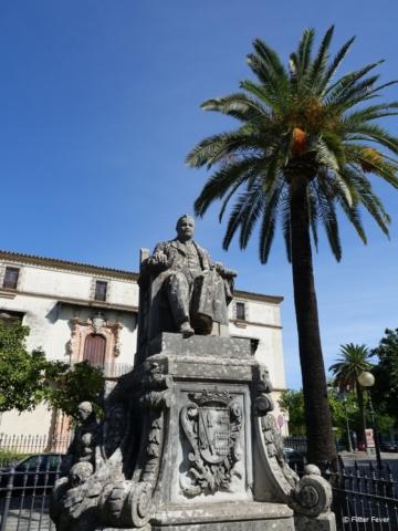Monumento al Marqués de Casa Domecq in Jerez de la Frontera