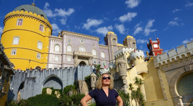 The gorgeous Palace of Pena in Sintra, Portugal
