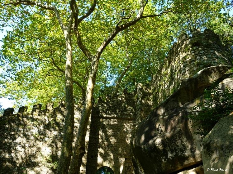 The green side of Moorish Castle
