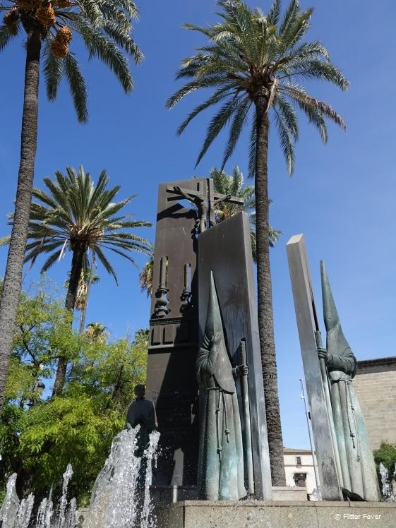 Very interesting statues in Jerez de la Frontera