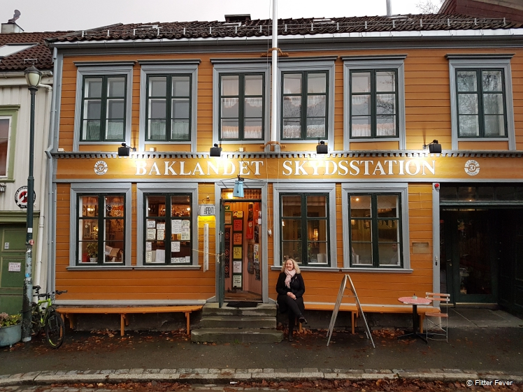 Baklandet Skydsstation in Trondheim