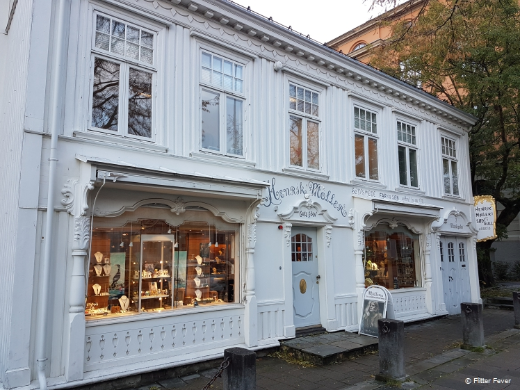 Cute looking shop in Trondheim center