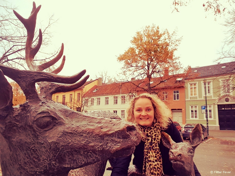The only deer you will see in Trondheim city center