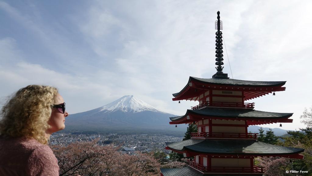 Chureito Pagoda, Mt Fuji and me