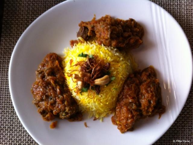 Delicious Persian food at Leyali Al-Khayyam
