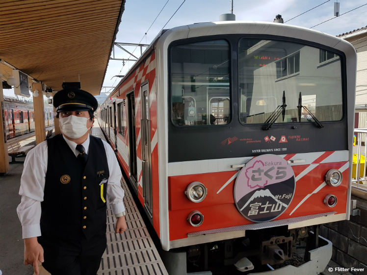 This must be the train to Mount Fuji