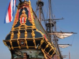 VOC replica ship Batavia in Lelystad