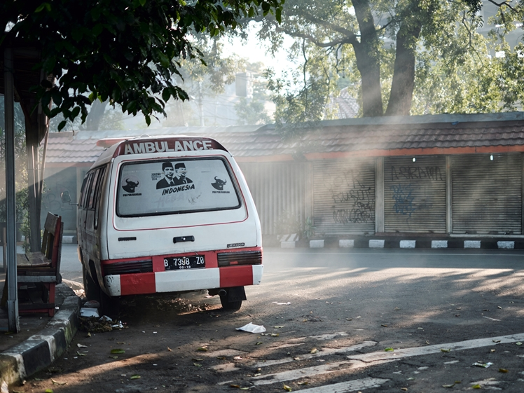 Ambulance in Indonesia