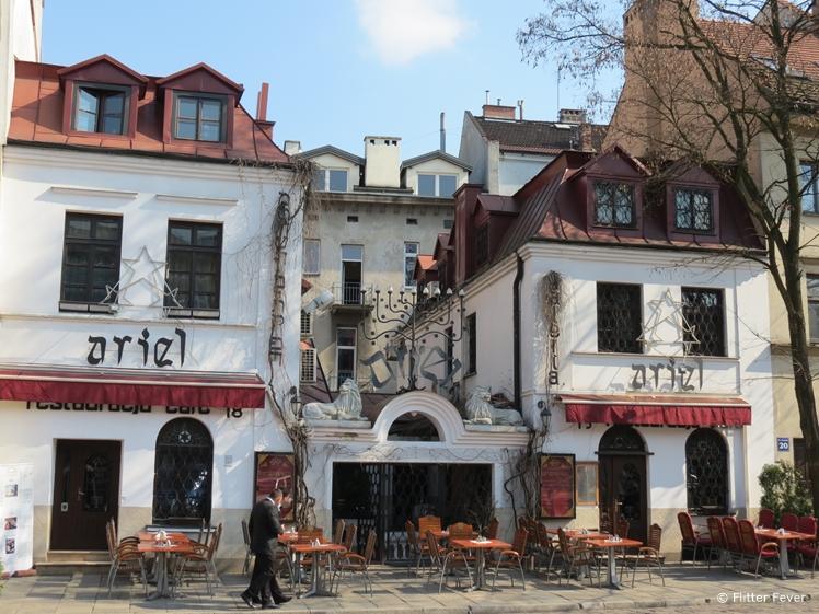 Ariel Restaurant in Kazimierz, Krakow