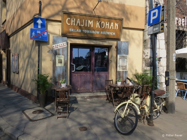 Chajim Kohan in Kazimierz, Krakow
