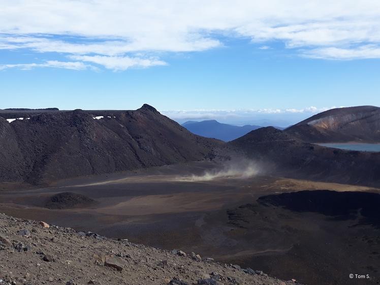 Fantastic views at Tongariro Crossing