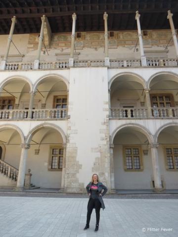 Me @ Wawel Castle Krakow