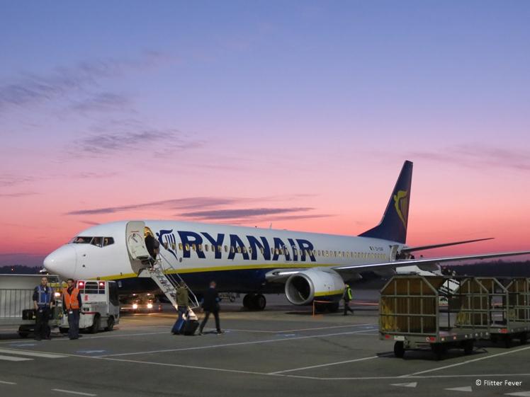 Ryan Air flight to Krakow