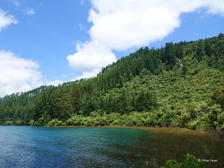 The Blue Lake in Rotorua