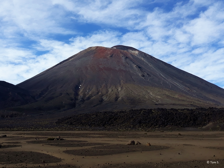 Volcano at Tongariro Crossing
