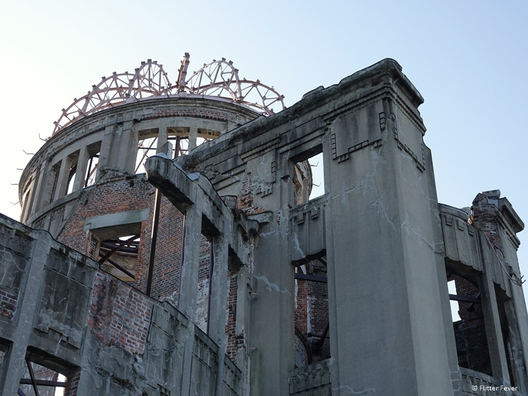 A-Bomb Dome up close Hiroshima