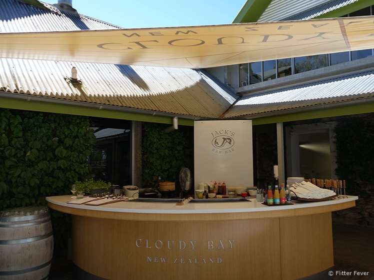 Cloudy Bay Jack's Raw Bar Blenheim winery