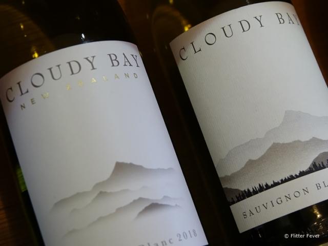 Cloudy Bay bottles