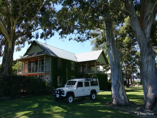Cloudy Bay house & jeep