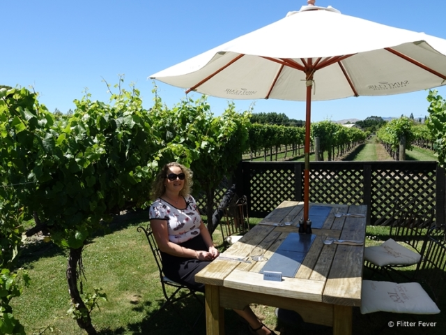 Hanging out in the vineyard of St Clair