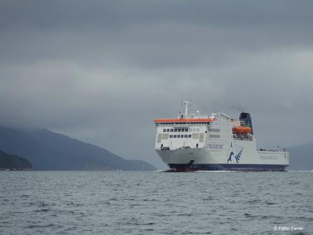 InterIslander ferry between Picton and Wellington