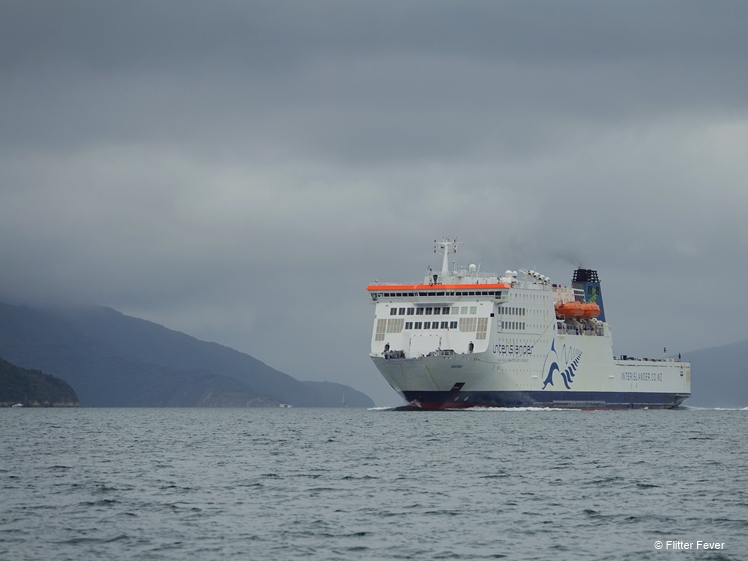 InterIslander ferry between Picton and Wellington