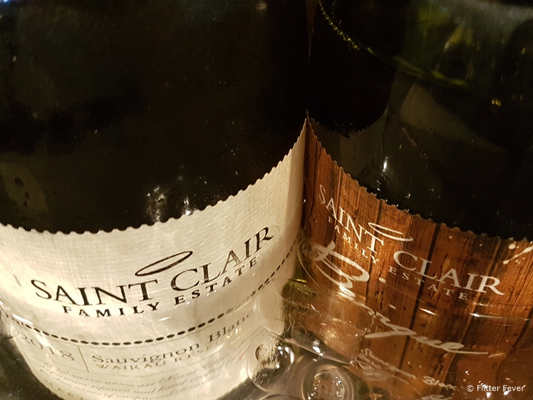 Saint Clair wine from Blenheim
