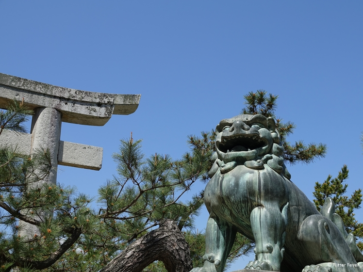 Statue at Miyajima Island