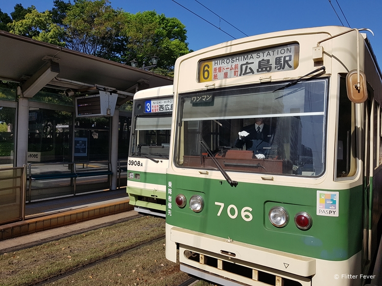 Trams in Hiroshima